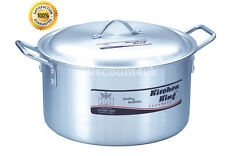 Kitchen King Stock Pots Cooking Boiling Pans Deep Catering Stockpots Casserole