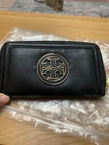 Tory Burch Black Leather Purse
