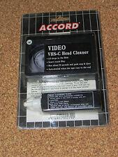 Pulisci testina video per videocamera VHS-C nastro di pulizia con liquido VHSC