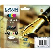 Genuine Epson 16 Fountain Pen T1626 Ink Multipack