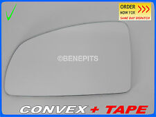 Wing Mirror Glass For Vauxhall Meriva A 2002-2009 CONVEX + TAPE Left  #F023 21