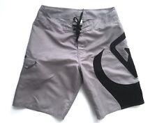 QUIKSILVER shorts swim trunks mens Size 32 GRAY