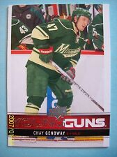 2012-13 Upperdeck Young Guns Rookie Card # 229 Chay Genoway!