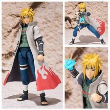 Naruto SHF Naruto Minato Namikaze PVC Action Figure Collectible Model Toy