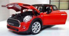 Modellini statici di auto , furgoni e camion neri scatola chiusi mini cooper