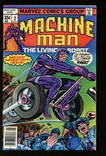 MACHINE MAN #2 FINE THE LIVING ROBOT 1978 bin-2017-0052