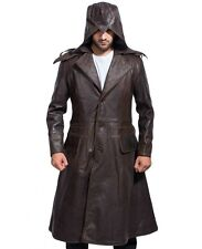 Assassins Creed long Coat (Available in Black & Brown color) Synthetic Leather