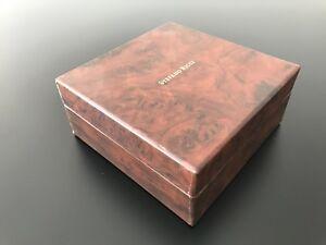 "Boîte Lot Luxe - Cadeau Boîte "" STEFANO RICCI "" Original (15 x 15 X 7 CM)"