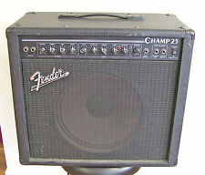 Vintage 90's Fender USA Champ 25 Tube Amp