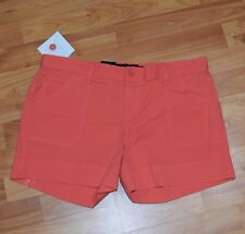 New w Tags!  CALVIN KLEIN JEANS  Women's Sz 10 Coral Twill  SHORTS