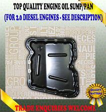 FOR RENAULT LAGUNA MEGANE SCENIC 2.0 dCi LOWER BOTTOM ENGINE OIL SUMP 8200795039