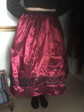 Retro 50's Style Skirt With Net Underskirt