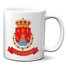 Taza Alicante escudo ciudad de Alicante taza desayuno cerámica 330ml
