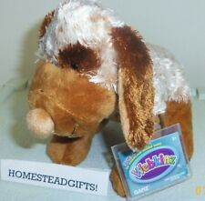 Choco Cheeky Dog full size 8.5in Webkinz pet with sealed unused code HM694