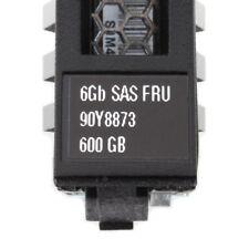 """IBM 600 GB 2,5"""" HDD @10k // FRU 90Y8873 // PN: 90Y8876 // 64 MB Cache"""