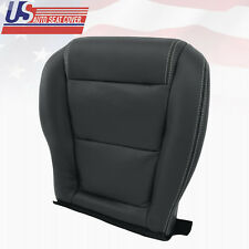 2001-2006 Acura MDX Passenger Lower Perforated Leather Seat Cover Shade Ebony