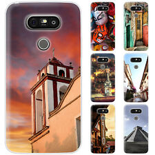 Dessana Mexico Sightseeing Silicone Protective Case Pouch Cover For LG
