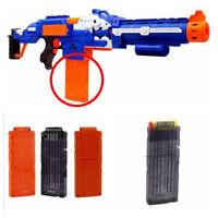 12 Dart Replacement Bullet Ammo Clip Magazine for Nerf N-Strike Elite Toy Gun UK
