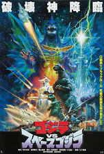"GODZILLA VS SPACE GODZILLA Movie Poster [Licensed-NEW-USA] 27x40"" Theater Size"
