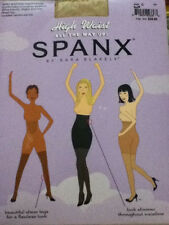 SPANX All The Way Up High Waisted Full-Length Pantyhose Sheer Size C Buff NIP