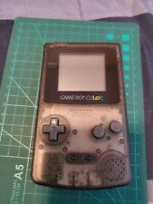Nintendo CGB-S-SA Game Boy Color Console - Black Clear Case