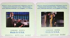 2 1997 Snake Eyes Movie 35mm Slides Nicolas Cage Gary Sinise Attila Dory Photos1