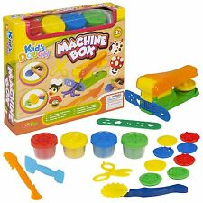 15pc Kids Play Dough Gift Sets Tubs & Shaping Shapes Craft Children Xmas Gift