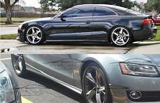 SIDE SKIRTS FOR AUDI A5 COUPE SPOILER 2007-2016 NEW
