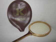 Vintage wooden squash racket racquet Kawasaki Model 2000 with head cover Pro
