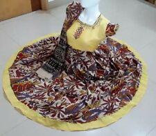 Beautiful Custom stitched Cotton Kalamkari Anarkali Kurti !! Size 40/42/L/XL