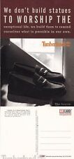TIMBERLAND BOOTS & SHOES UNUSED ADVERTISING COLOUR  POSTCARD