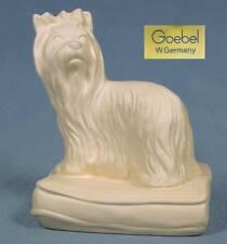 Yorkshire Terrier Hund hundefigur porzellanfigur porzellan figur goebel alt