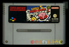 KIRBY'S DREAM COURSE Super Nintendo Snes Versione PAL Europea ○○○ SOLO CARTUCCIA