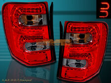 99-04 JEEP GRAND CHEROKEE LED TAIL LIGHTS LED RED/SMOKE 99 00 01 02 03 04