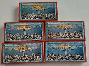 View of Hong Kong 35mm Mounted Color Slides Set of 5 - 20 Slide Sets Vintage 60s