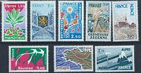FRANCE 1977 SG2150-2157 Regions Mint MNH