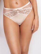 Rosie for Autograph  Silk and Lace High Leg Knickers BNWT SIZE 12 IVORY MIX