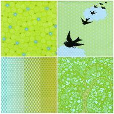 4x Tovaglioli di carta per decoupage Craft Mix vintage colore verde