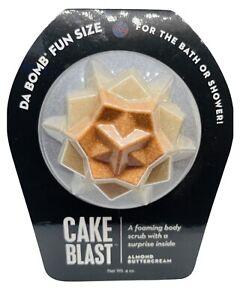 Da Bomb Cake Blast Foaming Body Scrub with Surprise Inside Almond Buttercream