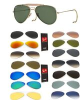 Ray Ban lenses replacement rb 3030 Aviator drop replacement OUTDOORSMAN ORIGINAL