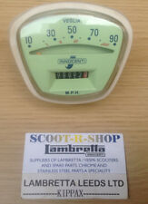 LAMBRETTA SERIES 3 90 MPH SPEEDO VEGLIA - BULB HOLDER. ITALIAN THRED. NEW