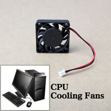 12V 2 Pin 40mm Mini 4cm DC Brushless Computer Cooler Cooling Fan PC Black GREAT