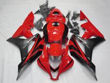 Red Black Fairing Kit for Honda CBR600RR 2007 2008 ABS Injection Molded Bodywork