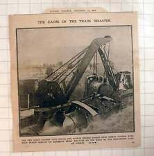 1910 Scotch Express Kirby Stephen Disaster Light Engines Removed