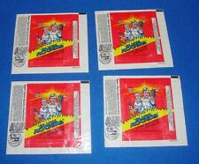 Buck Rogers 1979 Wrapper Lot of 4