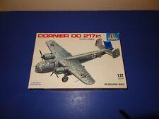 1/72 scale Dornier DO 217 K1 by Testors/Italeri