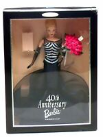 Barbie 40th Anniversary Collector Edition w/ Black Dress by Mattel (1999) NEW!