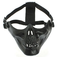 Skeleton Skull Mask Game Hunting Biker Halloween Half Face Masks Party Hallowmas