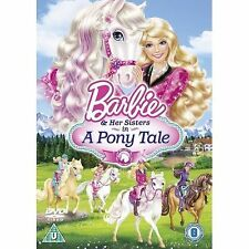 BARBIE & AND HER SISTERS IN A PONY TALE TAIL - THE MOVIE - NEW / SEALED DVD - UK