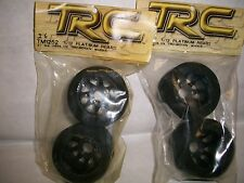TRC  # TM1252  2 PAIR 1/12 PLATINUM Rear  Tru-Motion Wheels **FREE SHIPPING**